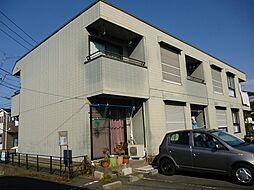 埼玉県新座市馬場3丁目の賃貸アパートの外観