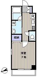 アルボル高倉[1階]の間取り