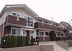 神奈川県川崎市麻生区片平の賃貸アパートの外観