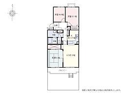 入間ハウスA棟 専有面積70.09m2