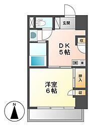 K−Point Bldg(ケイポイントビル)[8階]の間取り