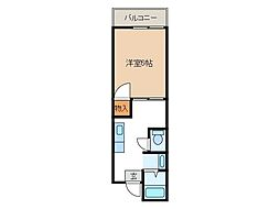 パーシモンヒルズ[2階]の間取り