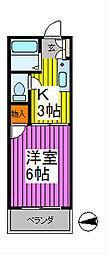 COCOタカハシ[2階]の間取り