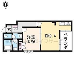 (仮称)下京区吉文字町ヘーベルメゾン[301号室]の間取り