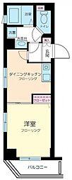 エルサンタフェ渋谷[401号室号室]の間取り