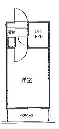 オフィス新横浜[703号室]の間取り