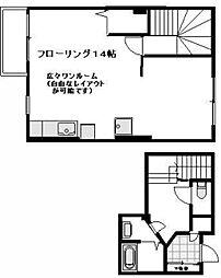 テラスハウス O・K・A[2階号室]の間取り