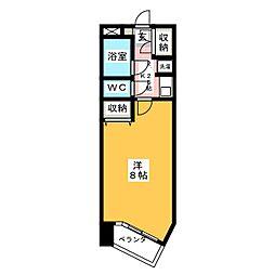 VIP仙台二日町[6階]の間取り