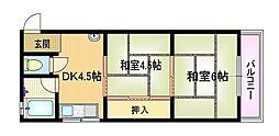 マンション都[2階]の間取り