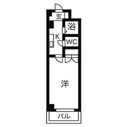 ジュネス桜台(ジュネスサクラダイ)[1階]の間取り