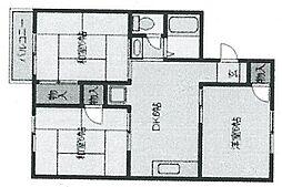パークサイドプラザ[306号室]の外観