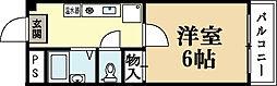 アルテール城陽[2階]の間取り