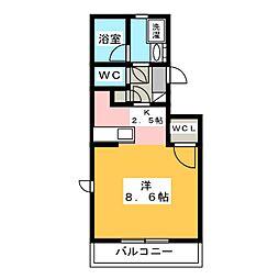 プリオール[2階]の間取り