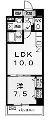カーサフェリーチェ[3階]の間取り