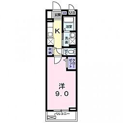 ベル・ドール[102号室号室]の間取り