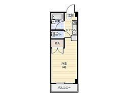 グリーンハイム2[3階]の間取り
