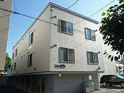 北海道札幌市東区北十八条東1丁目の賃貸アパートの外観