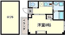 エヌエムサンカンテトワ[4階]の間取り