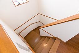 階段 手すり付...