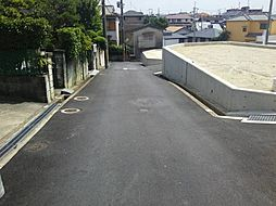 分譲地道路入口