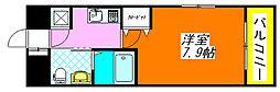 ディナスティ東大阪・センターフィールド 1102号室[11階]の間取り