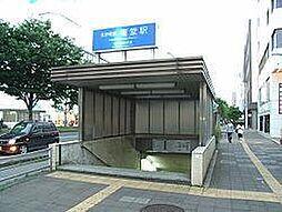 権堂駅車で約2...
