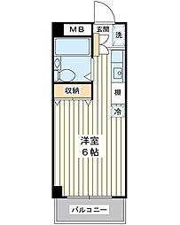 オーガスタ14[1階]の間取り