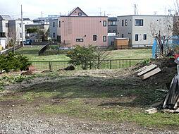 敷地の南が公園...