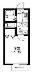 フレアプランドール・A棟[202号室号室]の間取り