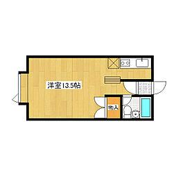 ハウスU2[202号室]の間取り