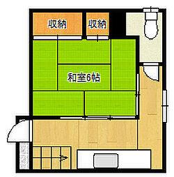 喜楽荘[102号室]の間取り