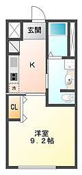 Casa Excelslor II[102号室]の間取り