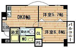 ロングライフパートIII[4階]の間取り