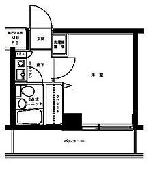 クリオ大口壱番館[4階]の間取り