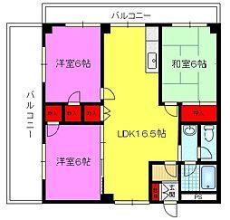 エトワールSEIWA[3階]の間取り