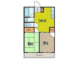 笹屋マンション[3階]の間取り