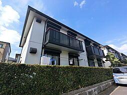 千葉県成田市公津の杜1丁目の賃貸アパートの外観