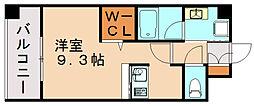 エンクレスト博多駅東II[12階]の間取り