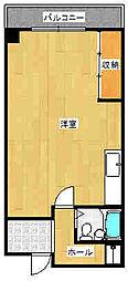 大阪府大東市住道2丁目の賃貸マンションの間取り