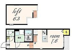 ARVITA[2階]の間取り