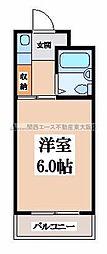 BFレジデンス小阪[6階]の間取り