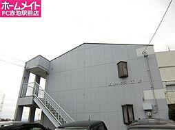 愛知県日進市野方町前田の賃貸アパートの外観