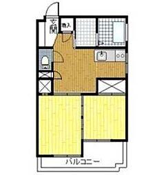 博多大洋ビル[4階]の間取り