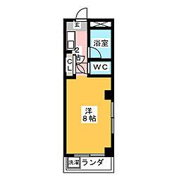 マンション八幡[2階]の間取り