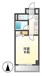 シャルム稲塚[3階]の間取り