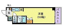 KICS湘南[303号室]の間取り
