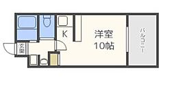 ルネッサンス赤坂[5階]の間取り