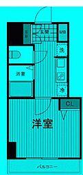 東京都足立区足立の賃貸マンションの間取り