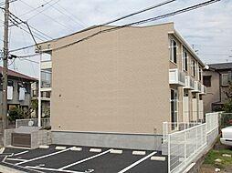 千葉県千葉市花見川区横戸町の賃貸アパートの外観