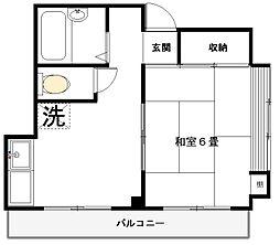 パークハイツヤマガタ[3階]の間取り